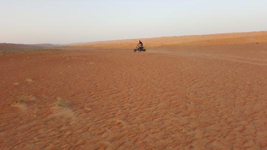 Wahiba Sands : wheeling
