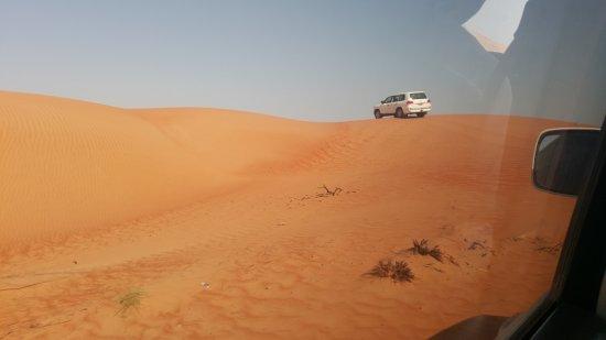 Wahiba Sands : Dune bashing