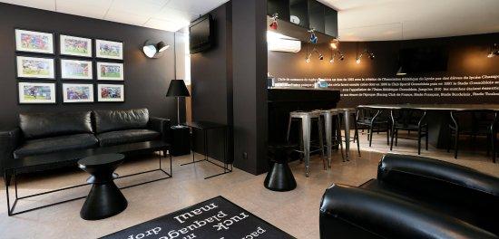 Echirolles, Francia: Salon convivial