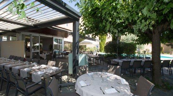 Echirolles, France : Terrasse