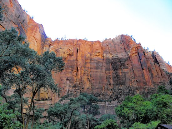 Zion Canyon Scenic Drive: Inizio trail