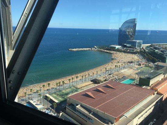 Otra De Vistas Picture Of Torre D Alta Mar Barcelona Tripadvisor