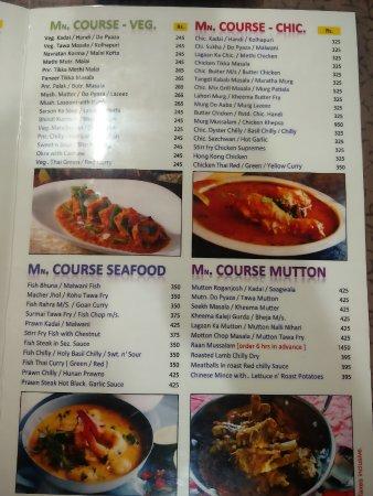 Menu card picture of khana khazana mumbai tripadvisor khana khazana menu card forumfinder Gallery