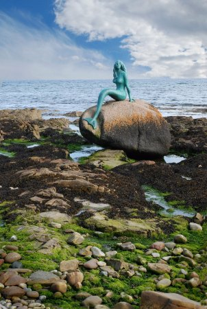 Mermaid of the North, Balintore, Easter Ross.