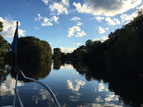 Blackfeather Boat Charter: View from the Blackfeather sunbed