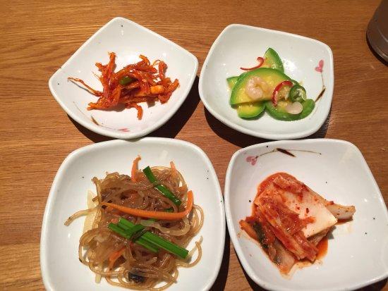 bowl korean side dish banchan