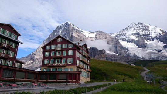 Jungfrau Region, Szwajcaria: Кляйне Шайдегг