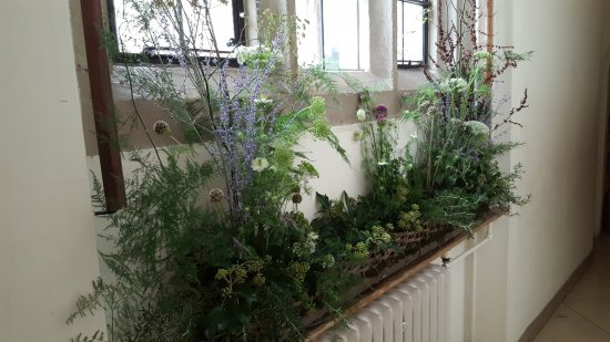 Leeds Castle : Florist decorations for Festival of Flowers