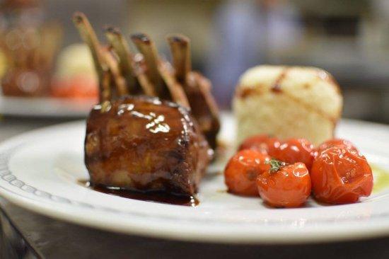 liotrivi restaurant rack of lamb