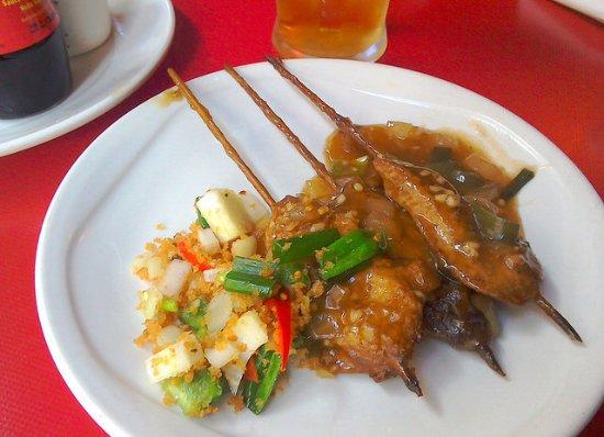 Blackburn, UK: Chicken Satay