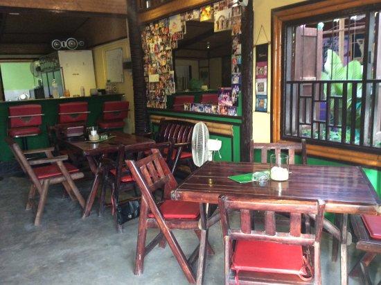 Restaurant Bamboo Grill & Bar : Klein aber sehr gemütlich
