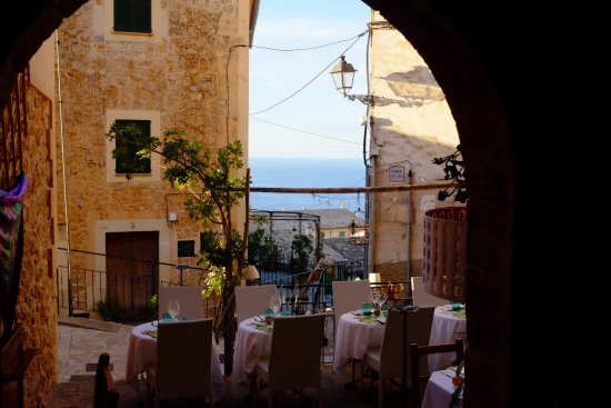 Banyalbufar, Hiszpania: Blick aus Hotel