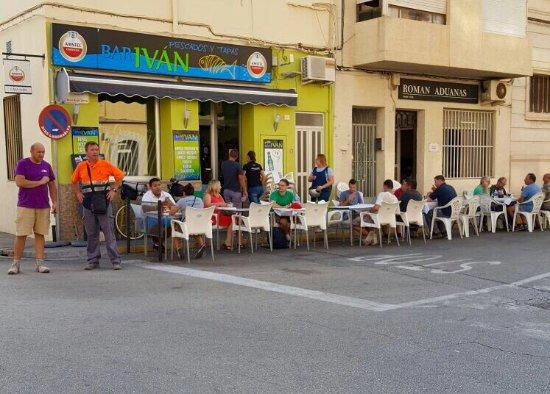 Grau de Gandia, España: Bar Ivan