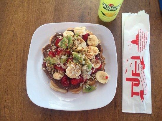 Photo of Restaurant Ab'bas Waffle at Cevdet Paşa Cad. No: 46/c, Istanbul 34342, Turkey
