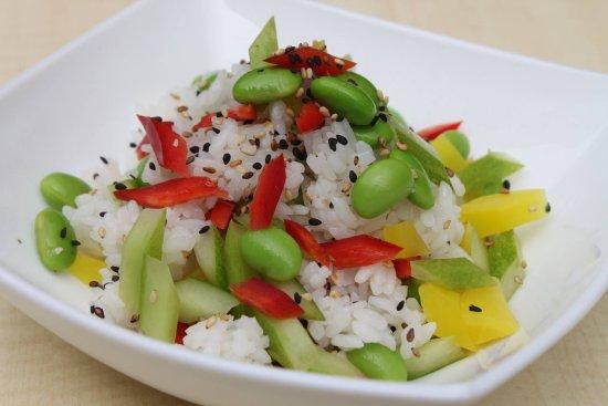 Edamame Rice Bowl