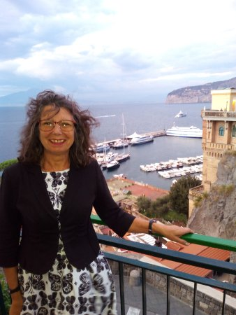 Province of Naples, Italie : View on terrace