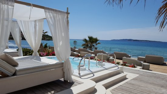 Delfino Blu Boutique Hotel: Spa terrace
