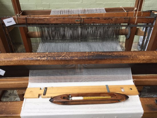 Queen Street Mill Textile Museum: You can get up close to much of the equipment, including the hand looms.