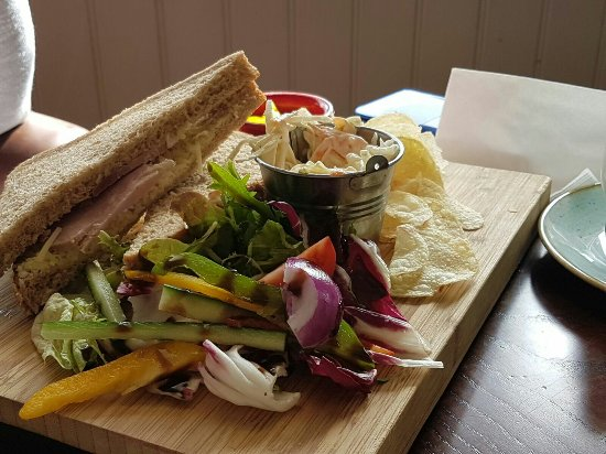 Poulton Le Fylde, UK: Friday lunch