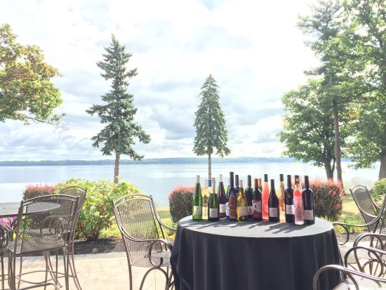 Geneva, NY: Wine selections for everyone with an incredible view. Join us for a tasting!