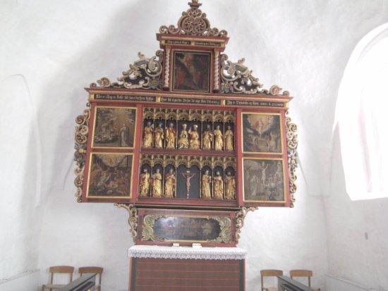 Højer, Danmark: Altertavlen, Emmerlev kirke