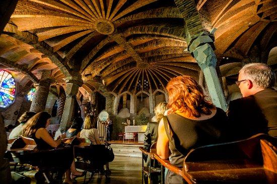 Catalogne, Espagne : Costa Barcelona - Crypte Gaudi - Colonia Güell -Photo par Nuria Puentes