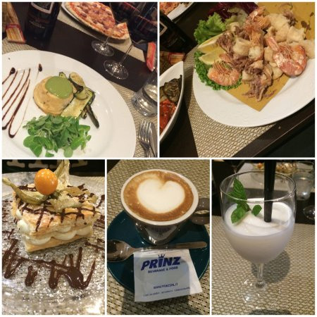 Borgo San Lorenzo, İtalya: Starter, Mains & Desserts.
