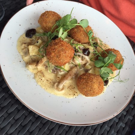 Rock, UK: Truffle Arancini