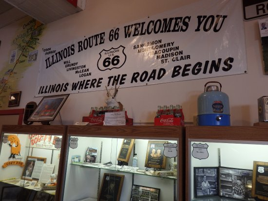 Illinois and Pontiac take pride in Route 66