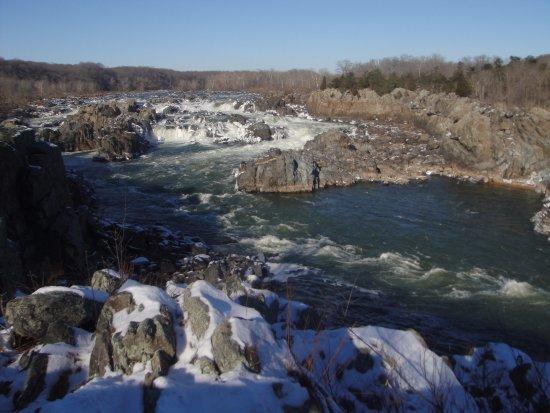 McLean, VA: Водопады зимой