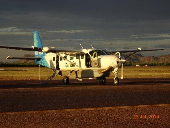 Kununurra, أستراليا: Unser Flugzeug
