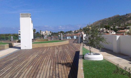 El Albir, España: Terraza del hotel