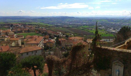 Camerano, Italia: panorama dal belvedere