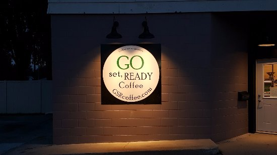 Benson, MN: Go Set Ready Outside Sign
