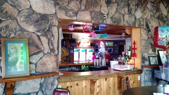 Camp Douglas, WI : Interior of Squirrel E's