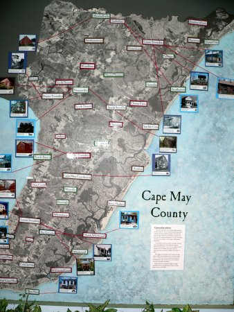 Historic Cold Spring Village : Cape May County Map