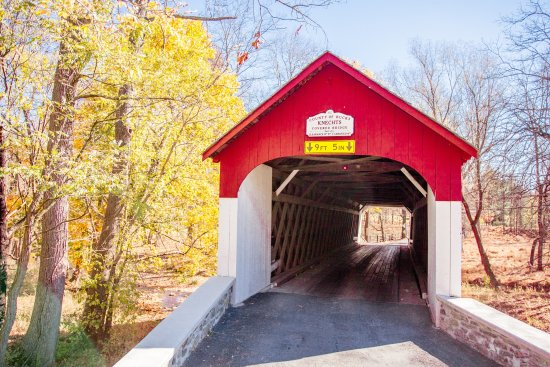 Bucks County, Pennsylvanie : Knecht's Covered Bridge