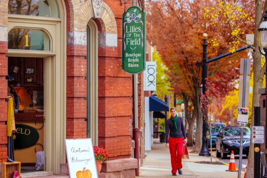 Bucks County, Pennsylvanie : Doylestown shopping