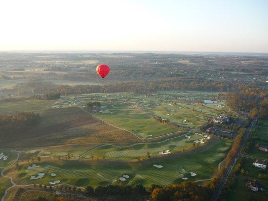 Bucks County, Pennsylvanie : Hot Air Balloon
