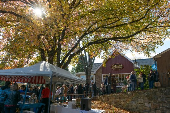 Bucks County, เพนซิลเวเนีย: Peddler's Village Apple Festival