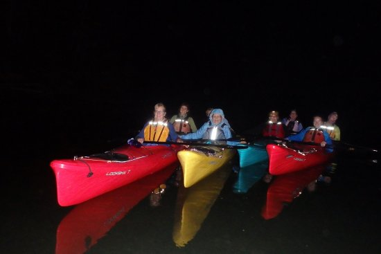 Castine Kayak Adventures: Out in Penobscot Bay under the ethereal skies!