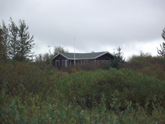 Laugarvatn, Islandia: Pulling up to the house