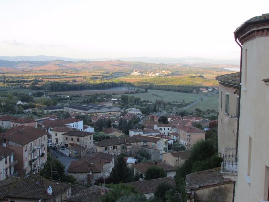 Castello delle Serre: Wonderful terrace that overlooks this too!