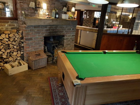 Climping, UK: Pool table, you can play for free every Tuesday. \0/