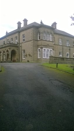 Newfield Hall: View of house from drive