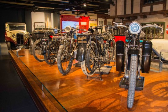 Coventry, UK: Great selection of motor bikes