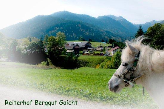 Nesselwaengle, Oostenrijk: Ponyreiten