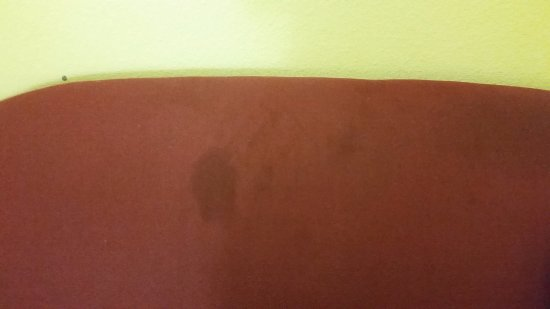 Cleburne, TX: More stains on sofa