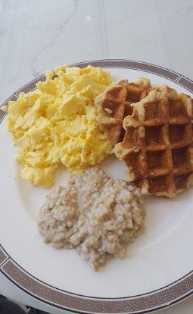 Buffet breakfast options