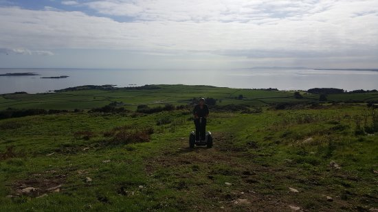 Gatehouse of Fleet, UK: Segways fantastic of road fun